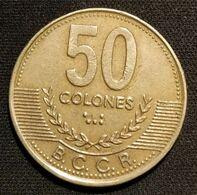COSTA RICA - 50 COLONES 1997 - KM 231 - Costa Rica