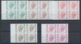 Elström (1971) - Série Complète çàd N°1581/87 En Bloc De 4 + BDF. Superbe Ensemble ! - Imperforates
