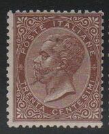 1863 30 C. DLR MNH - Nuovi