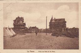 DE PANNE / VILLAS LES FLOTS EN LES HOUX / LEGERTENTEN  1918 - De Panne