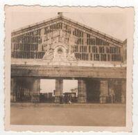 Photo Originale Militaria WWII Saint Nazaire Ruines Bombardements Gare Détruite - Krieg, Militär
