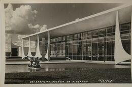 Brasil - Brasilia // Carte Photo //  Palacio Da Alvorada  - Oscar Niemeyer 19?? - Brasilia