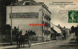 Luxeuil-les-Bains - Route De Fougerolles - 1908 - Luxeuil Les Bains