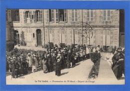 22 COTES D'ARMOR - VAL ANDRE Procession Du 15 Août, Départ Du Clergé (voir Descriptif) - Pléneuf-Val-André