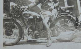 MOTO Sarolea  Région LUXEMBOURG1933 Motorrad Krad Kradmeler Motorcycle - Automobili