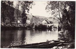 Doubs : VUILLAFANS : Les Bords De La Loue ( C.p.s.m. Photo. Vérit. ) - France