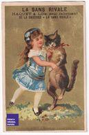 Jolie Chromo Chicorée Haquet Lille - Danse Chat Humanisé Fillette Robe Mode Anthropomorphisme Humanized Cat Dance A40-13 - Other