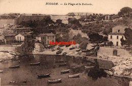 Niolon - La Plage Et La Batterie - Other Municipalities