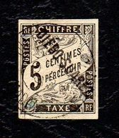 Diégo-Suarez 1892 Taxe N° 7 - Used Stamps