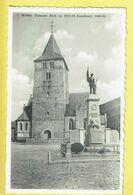 * Wellen (Limburg) * (Uitgever Awouters - Devries, Nr 1) Parochie Kerk En 1914-18 Standbeeld, Monument, église, Church - Wellen