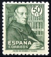 España 1947. Padre Feijoo. Ed 1011. MNH. **. - 1931-Heute: 2. Rep. - ... Juan Carlos I