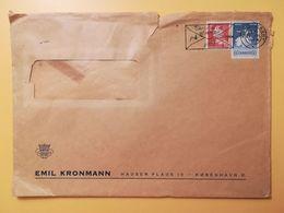 1964 BUSTA INTESTATA  DANIMARCA DENMARK BOLLO BALLETTI FESTIVAL ANNULLO OBLITERE' KOBENHAVN - Lettere