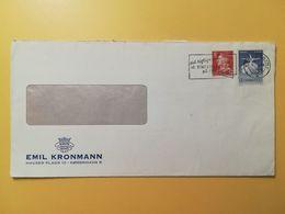 1965 BUSTA INTESTATA  DANIMARCA DENMARK BOLLO BALLETTI FESTIVAL ANNULLO OBLITERE' KOBENHAVN - Lettere
