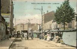 FRANCE - Carte Postale  - Grésillons Gennevilliers - Le Marché - L 68236 - Gennevilliers
