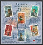 FRANCE BLOC ET FEUILLET CROIX ROUGE 2003 YT N° BF 60 Obl. - Bloc De Notas & Hojas