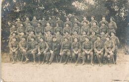Carte-Photo - Portrait D'un Groupe De Chasseur Du 3 ème Bataillon (Ca 1920) (BP) - War, Military