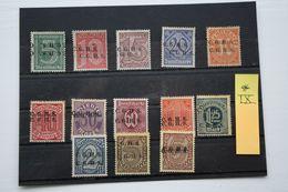 Oberschlesien/Upper Silesia Type IX  13 Mint Stamps Set - Abstimmungsgebiete
