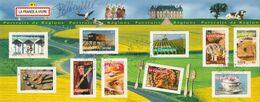FRANCE BLOC ET FEUILLET PORTRAITS DE REGIONS 2003 YT N° BF 57 Obl. Et Signé - Bloc De Notas & Hojas