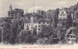 377/ Weggis, Hotel Köhler, Villa Eden Und Pension Paradis - LU Lucerne