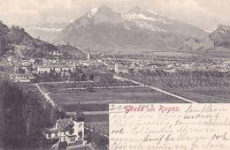 379/ Gruss Aus Ragaz, 1902 - Schweiz