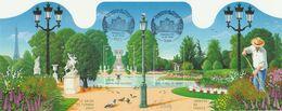 FRANCE BLOC ET FEUILLET JARDIN DE FRANCE 2004 YT N° BF 70 Obl. Et Signé - Bloc De Notas & Hojas