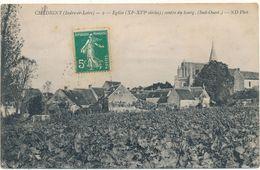 CHEDIGNY - Eglise, Centre Du Bourg - Altri Comuni