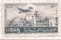 PIA  -   LIBANO  -  1952 - Francobollo Di Posta Aerea - Aeroporto Di Beyrut  - (Yv P.A. 73) - Lebanon