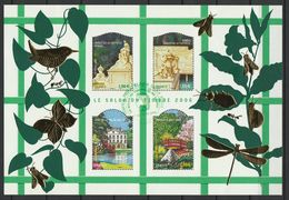 FRANCE BLOC ET FEUILLET SALON DU TIMBRE 2006 YT N° BF 99 Obl. - Bloc De Notas & Hojas