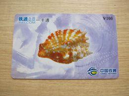 Prepaid Phonecard, Shell, Used - Chine