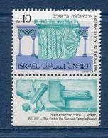 Israël - YT N° 1066 - Neuf Sans Charnière - 1989 - Unused Stamps (with Tabs)