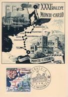 Rallye Monte-Carlo XXXIeme  -  1962 Carte Maximum  -  Monaco Premier Jour - Rallyes
