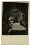 Ref 1393 - Early Holyland Postcard - Rue Du Roi Salamon - Jerusalem Palestine Israel - Israel