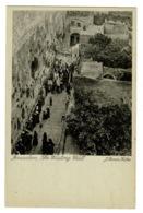 Ref 1393 - Early Holyland Postcard - Le Mur Des Lamentations - Jerusalem Palestine Israel - Israel