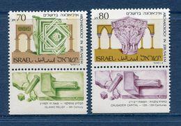 Israël - YT N° 1071 Et 1072 - Neuf Sans Charnière - 1989 - Israel