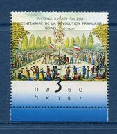 Israël - YT N° 1078 - Neuf Sans Charnière - 1989 - Israel