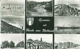 Groeten Uit Hoek Van Holland 1961; Meerluik - Gelopen. (Spanjersberg - Rotterdam) - Hoek Van Holland