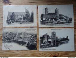 Lot De 12 Cartes Postales Bretagne, Ille Et Vilaine, Fougères: Château, Eglise Saint-Sulpice - Fougeres