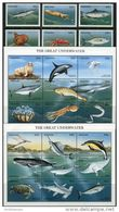 Tanzania 1999. Michel #3677/700+Bl.#491/92 MNH/Luxe. Sea Animals. Fishes. Whales. Dolphins (B46) - Vissen