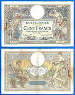 France 100 Francs 2 9 1924 Prefix M Merson Frcs Frc Grand Billet Paypal Bitcoin OK - 100 F 1908-1939 ''Luc Olivier Merson''