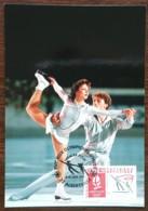 CM 1990 - YT N°2633 - JEUX OLYMPIQUES D'HIVER / PATINAGE ARTISTIQUE - ALBERTVILLE - 1990-99