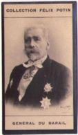 Général François Charles Du Barail Né à Versailles † Neuilly-sur-Seine - Guerre 1870 - Collection Photo Felix POTIN 1900 - Félix Potin