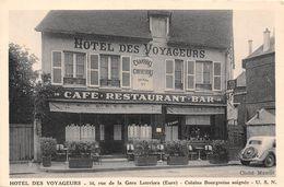 27-LOUVIERS- HÔTEL DES VOYAGEURS 14 RUE DE LA GARE LOUVIERS - Louviers