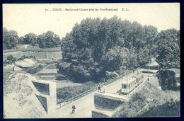 Cpa Du 59 Lille Boulevard Carnot -- Sur Les Fortifications    LIL6 - Lille
