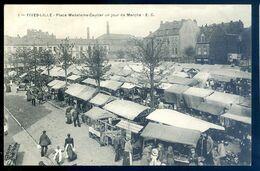 Cpa Du 59 Fives Lille Place Madeleine Caulier Un Jour De Marché    LIL6 - Lille