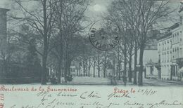 LIEGE / BOULEVARD DE LA SAUVENIERE / PRECURSEUR 1898 - Luik