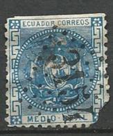 EQUATEUR  1872  /  N° 5   - Oblitere / Voir Detail Annonce - Ecuador