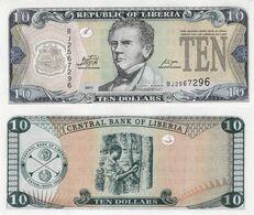 Liberia 2011 - 10 Dollars - Pick 27 UNC - Liberia