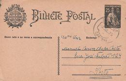 PORTUGAL - ENTIER POSTAL / BILHETE POSTAL - Le 03/07/1925 - Enteros Postales