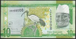 Gambia 10 Dalasi 2015 Pnew UNC - Gambia