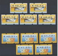 Germany: 2002 Frama Posthorn Set Of 5 €051-€225 Ditto Letter Box Set Um - Nuovi